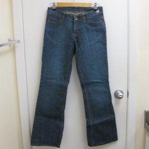 EUC Express X2 W10 flare leg jeans 2 short 2 S